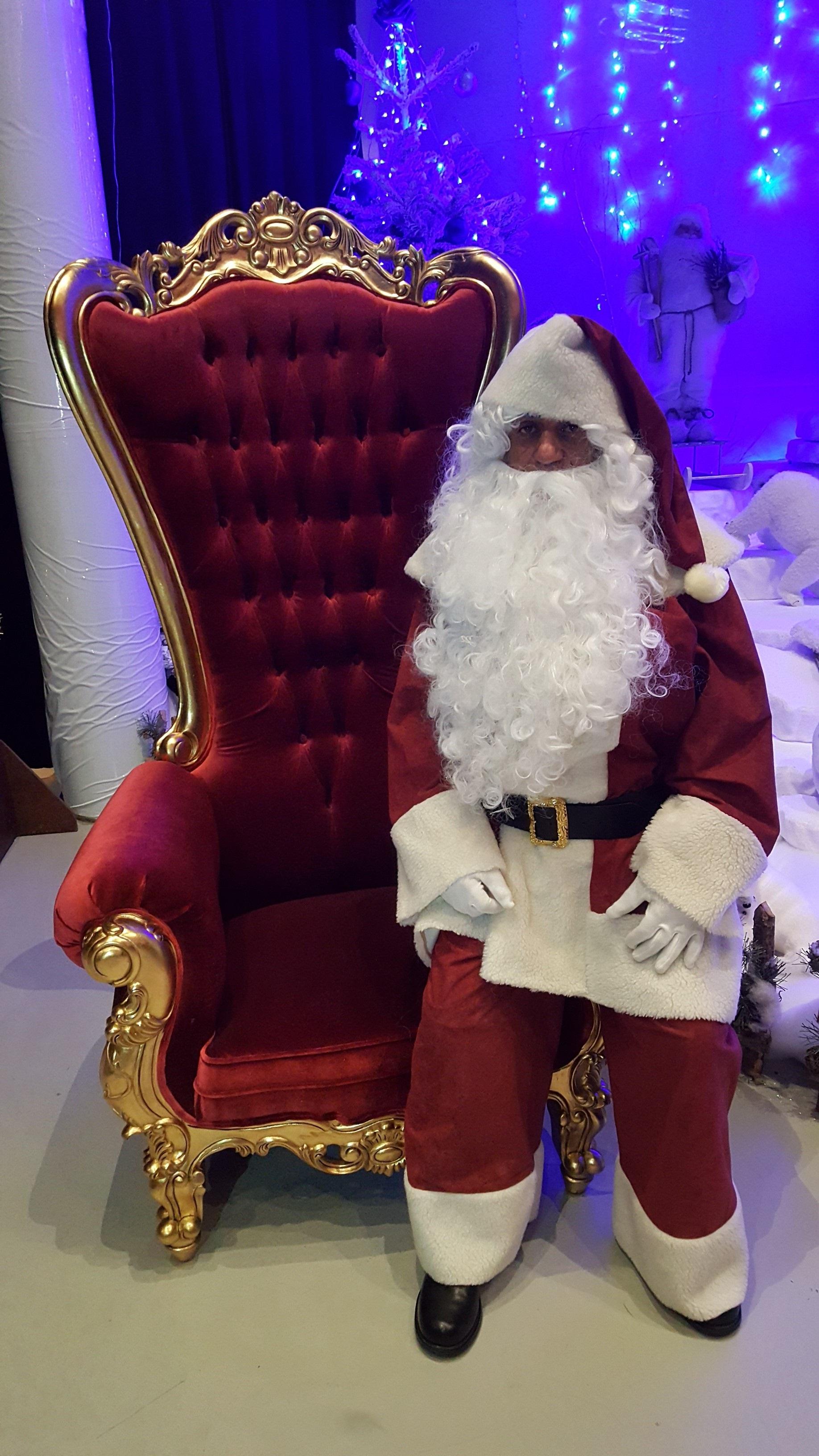 fauteuil et trone Noël