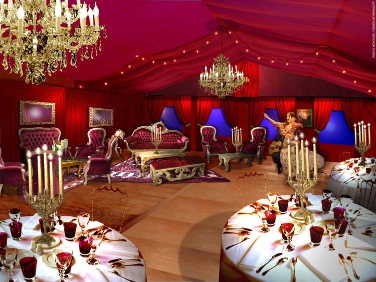 location mobilier pour évènementiel : scène de concert, remise de ... - Location De Meubles Design