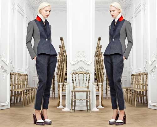 Mobilier pour publicité Dior