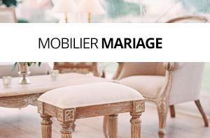 Nos référence location mobilier mariage